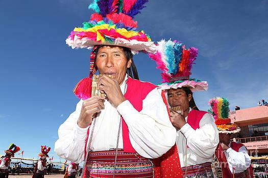 James Brunker - Suri sikuris Dancers Peru