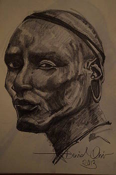 Surma Warrior  by David Obi
