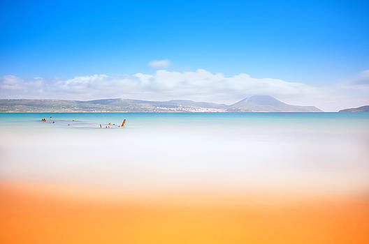 Golden beach by Stavros Argyropoulos