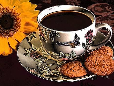 Surreal Coffee Break by Annette Allman