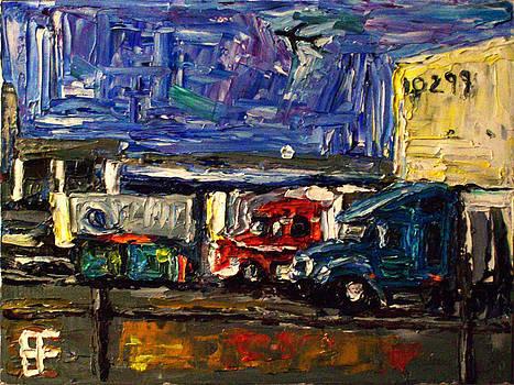 Surrey BC Industry Trucks by Allen Forrest