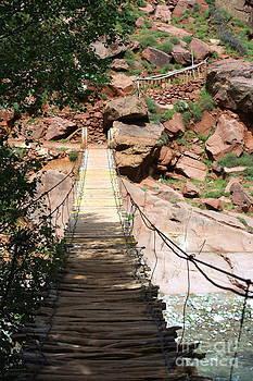 Sophie Vigneault - Suspended Bridge Morocco