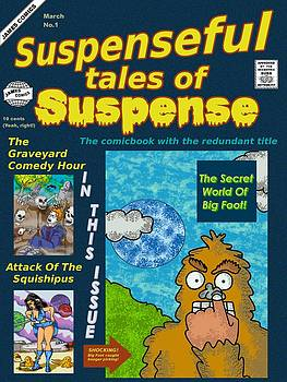 Suspenseful Tales Of Suspense No.1 by James Griffin