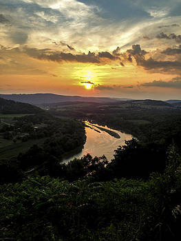 Susquehanna River Valley by Debbie Karnes