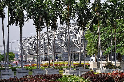 Suvarnabhumi International Airport in Bangkok by Sami Sarkis