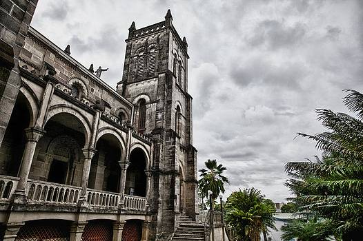 Suva's Catholic belltower by JM Photography