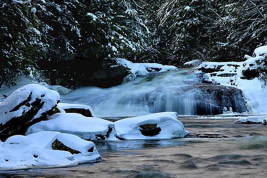 Matthew Winn - Swallow Falls in Winter