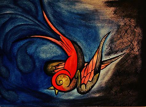 Swallow by Ryno Worm  Tattoos
