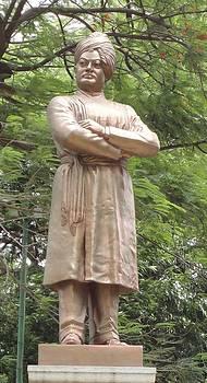 Swami Vivekanand by Meghna Suvarna
