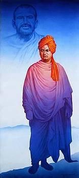 Swami Vivekananda by Milind Shimpi
