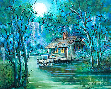 Swamp Moon by Dianne Parks