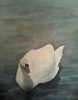 Swan 1 by Karen King