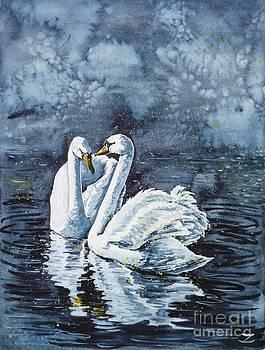 Zaira Dzhaubaeva - Swan Couple