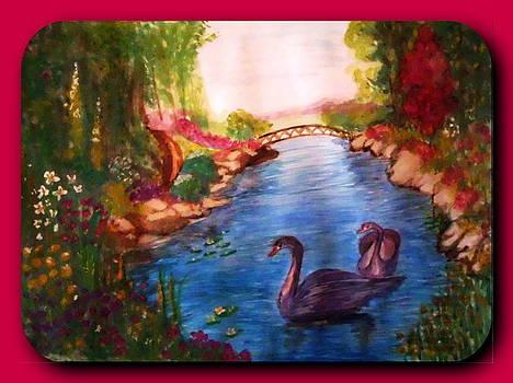 Swan  by Ghee Flores