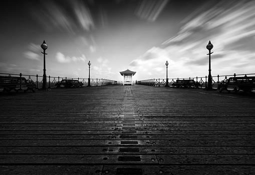 Swanage Pier by Vinicios De Moura