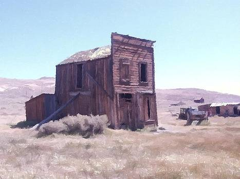 Swazy Hotel Bodie California by Kevin Heaney
