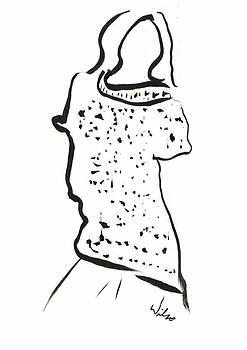 Mark Wilcox - Sweater Dress In Ink 1