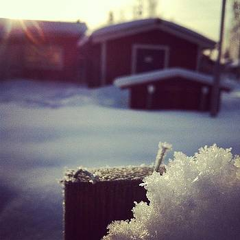 #sweden #snow #skärplinge #cold #ice by Andrea Romero