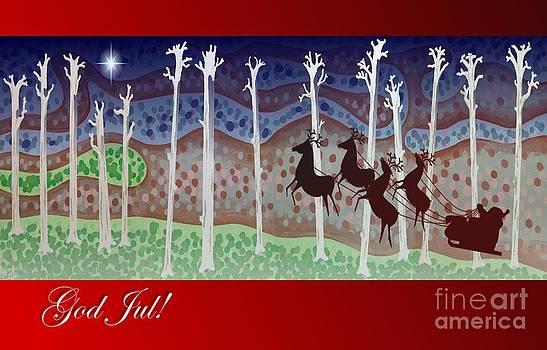 Alan Hogan - Swedish Christmas Card