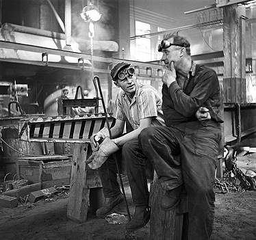 Swedish Foundry Workers by David Murphy