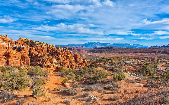 Sweeping Vista at Arches by John M Bailey