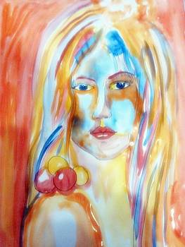 Sweet Angel Light by Farfallina Art -Gabriela Dinca-