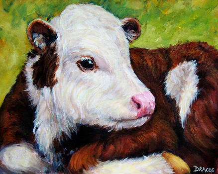 Sweet Baby Cow by Dottie Dracos