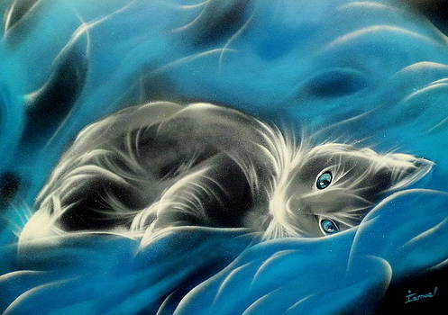 Sweet Cat by Ismael Paint
