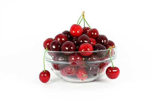 Sweet cherries by Borislav Marinic