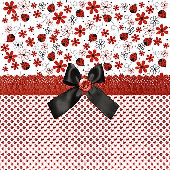 Debra  Miller - Sweet Red Ladybugs