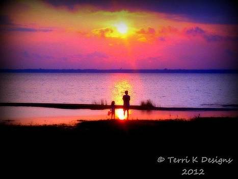 Sweet Sunset by Terri K Designs