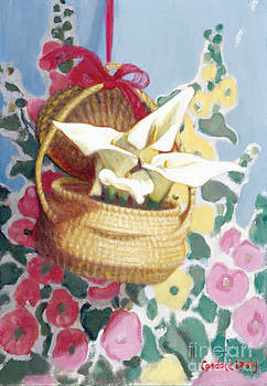 Candace Lovely - Sweetgrass Basket with Lilies