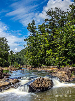 Sweetwater Creek III by Bernd Laeschke