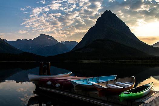 John Daly - Swiftcurrent Lake Boat Dock