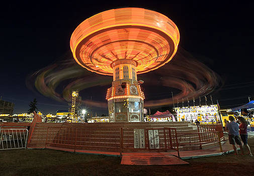 Swing at the Fair by Bob Noble