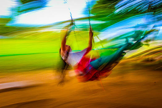Swinging in a Dream3 by Fabio Giannini