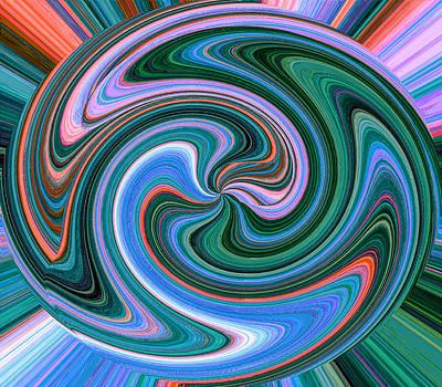 Swirl Ball by Anthony Vlach