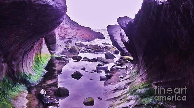 Swirl Rocks 2 by John Williams