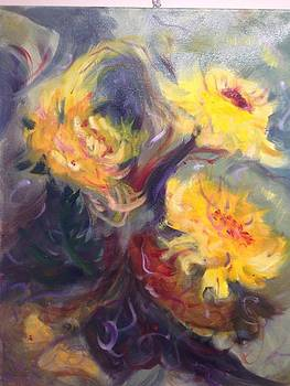 Swirling in Sun by Karen Carmean
