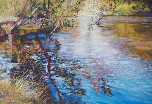 Swirls and Ripples - Goulburn River by Lynda Robinson
