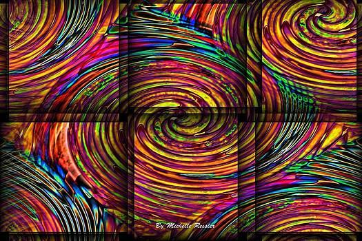Swirly Bird by Michelle Ressler