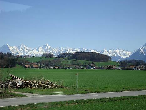 Swiss Alps by Fladelita Messerli-