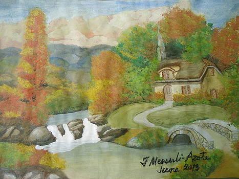 Swiss Cottage by Fladelita Messerli-