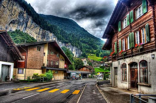 Switzerland Chalet by Shane Dickeson