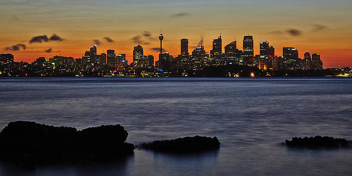 Sydney City Landscape by RSRLive Arts