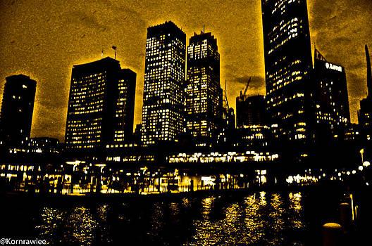 Sydney harbour by Kornrawiee Miu Miu