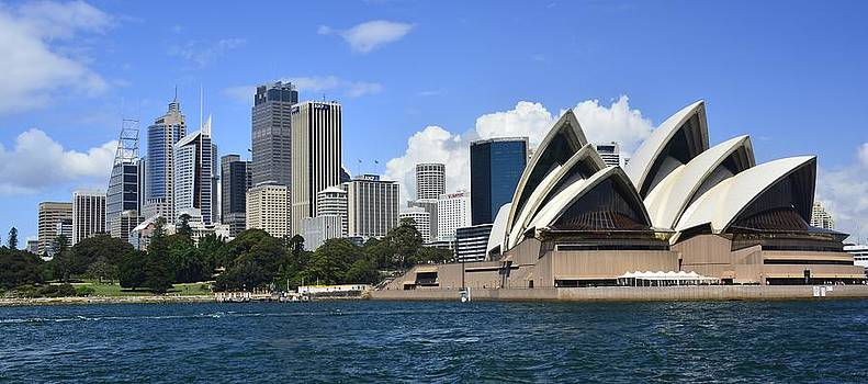 Sydney Harbour by Terry Everson