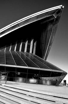 Sydney Opera House from a Different ViewPoint  by Angela Seager