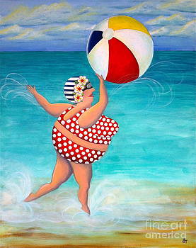 Sylvia at the Beach by Stephanie Troxell