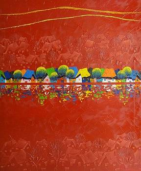 Symphony in red by Tang Hong Lee